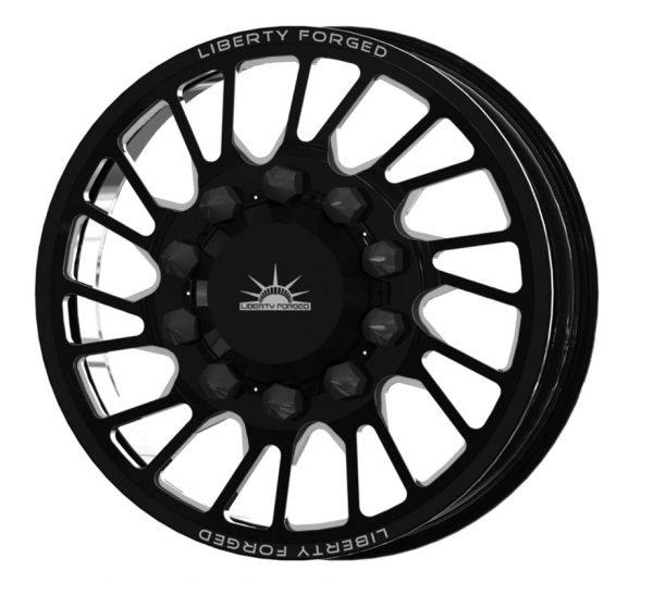 LBTYD02 Black Front